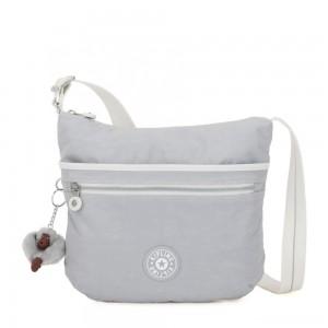 Kipling ARTO Shoulder Bag Across Body Active Grey Bl