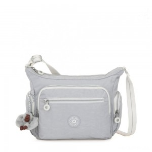 Kipling GABBIE S Crossbody Bag with Phone Compartment Active Grey Bl