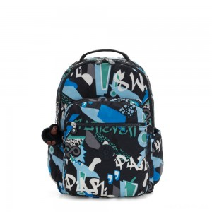 Kipling SEOUL Large Backpack with Laptop Protection Epic Boys