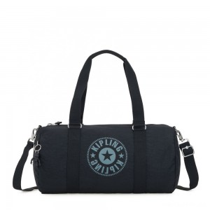 Kipling ONALO Multifunctional Duffle Bag Lively Navy