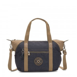 Kipling ART Handbag Night Grey Block