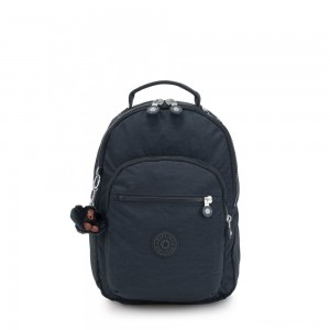 Kipling CLAS SEOUL S Backpack with Tablet Compartment True Navy