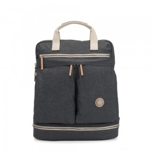 Kipling KOMORI M Medium backpack with Laptop protection Casual Grey