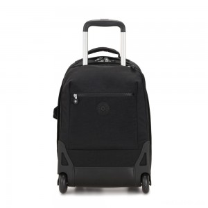 Kipling SOOBIN LIGHT Large wheeled backpack with laptop protection True Black