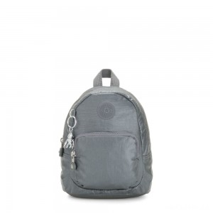 Kipling GLAYLA Extra small 3-in-1 Backpack/Crossbody/Handbag Steel Grey Gifting