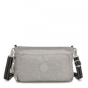 Kipling MYRTE Small 2 in 1 Crossbody and Pouch Chalk Grey