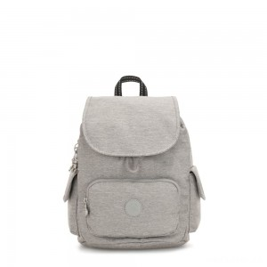 Kipling CITY PACK S Small Backpack Chalk Grey