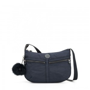 Kipling IZELLAH Medium Across Body Shoulder Bag True Dazz Navy
