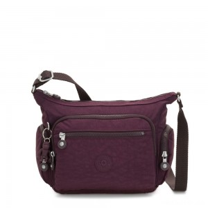 Kipling GABBIE S Crossbody Bag with Phone Compartment Dark Plum