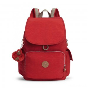 Kipling CITY PACK ESSENTIAL Backpack True Red C