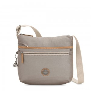 Kipling ARTO Shoulder Bag Across Body Fungi Metal