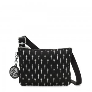 Kipling RAINA Small crossbody bag convertible to pouch Icicle R