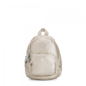 Kipling GLAYLA Extra small 3-in-1 Backpack/Crossbody/Handbag Cloud Metal Gifting