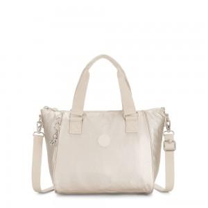 Kipling AMIEL Medium Handbag Cloud Metal
