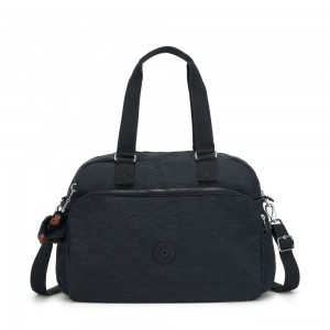 Kipling JULY BAG Travel Tote True Navy