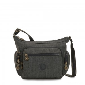 Kipling GABBIE S Small Crossbody Bag with multiple compartments Black Indigo