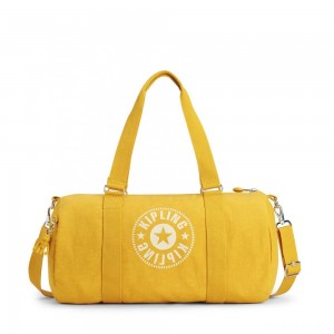 Kipling ONALO Multifunctional Duffle Bag Lively Yellow