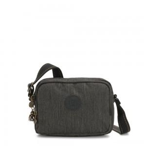 Kipling SILEN Small Across Body Shoulder Bag Black Indigo