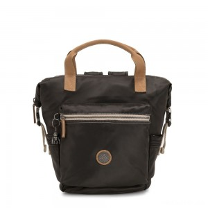 Kipling TSUKI S Small Backpack with semi detachable straps Delicate Black