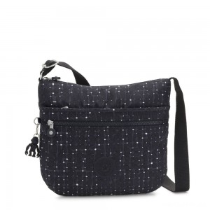 Kipling ARTO Shoulder Bag Across Body Tile Print