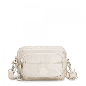 Kipling MULTIPLE Convertible waist bag Cloud Metal
