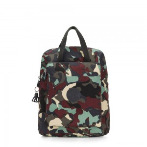 Kipling KAZUKI Large 2-in-1 Shoulderbag and Backpack Camo Large