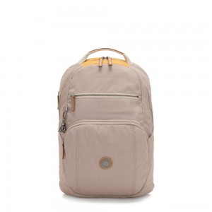 Kipling TROY Large Backpack with padded laptop compartment Bold Fungi Block
