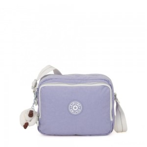 Kipling SILEN Small Across Body Shoulder Bag Active Lilac Bl