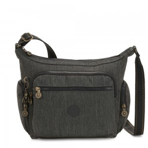 Kipling GABBIE Medium Shoulder Bag Black Indigo