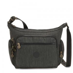Kipling GABBIE Medium Shoulder Bag Black Indigo