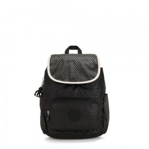 Kipling HANA S Small backpack Black Club C
