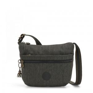 Kipling ARTO S Cross Body Shoulder Bag Black Indigo