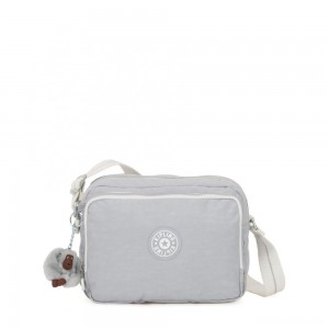 Kipling SILEN Small Across Body Shoulder Bag Active Grey Bl