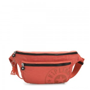 Kipling YASEMINA XL Large Bumbag Convertible to Crossbody Bag Hearty Orange