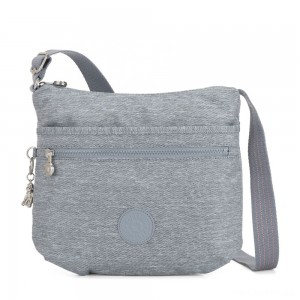 Kipling ARTO Shoulder Bag Across Body Cool Denim