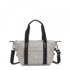 Kipling ART MINI Handbag Chalk Grey