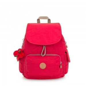 Kipling CITY PACK S Small Backpack True Red C