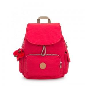 Kipling CITY PACK S Small Backpack True Red C