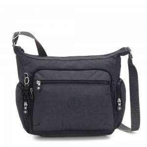 Kipling GABBIE Medium Shoulder Bag Night Grey