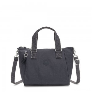 Kipling AMIEL Medium Handbag Night Grey