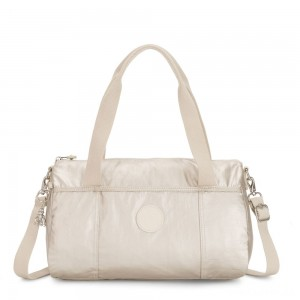 Kipling VITORIA Convertible accessory CLOUD METAL
