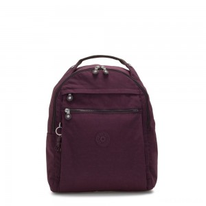 Kipling MICAH Medium Backpack Dark Plum