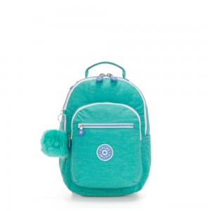Kipling SEOUL GO S Small Backpack Deep Aqua C