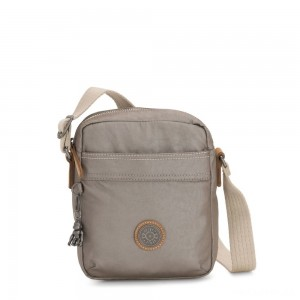 Kipling HISA Small Crossbody bag with front magneic pocket Fungi Metal