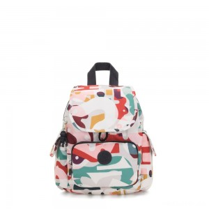 Kipling CITY PACK MINI City Pack Mini Backpack Music Print