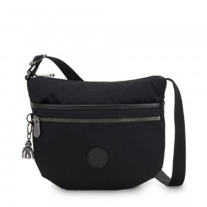 Kipling ARTO S Cross Body Shoulder Bag Rich Black