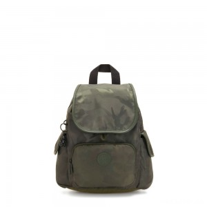 Kipling CITY PACK MINI City Pack Mini Backpack Satin Camo