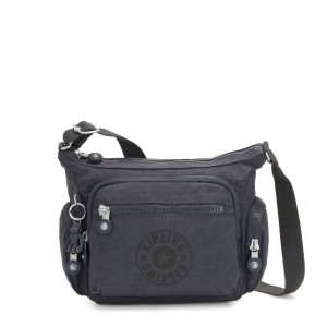 Kipling GABBIE S Crossbody Bag with Phone Compartment Night Grey Nc