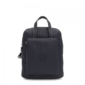 Kipling KAZUKI Large 2-in-1 Shoulderbag and Backpack Night Grey