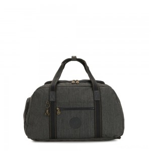 Kipling PALERMO Large Duffle Bag with Adjustable Backpack Straps Black Indigo